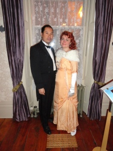 Bryan and Nicole, inside, Haunted Mississauga 2014